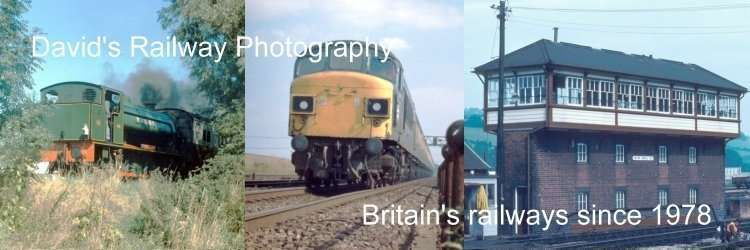 David's Railway Photography - Britain's railways since 1978